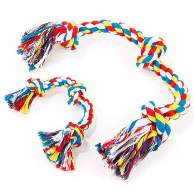 Grreat ChoiceA Knotted Rope Dog Toy