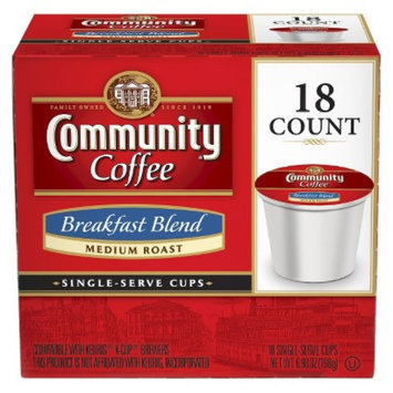 Community Coffee Company Community Coffee Breakfast Blend Single Cup 18ct