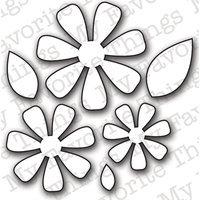 My Favorite Things Die-namics Die, Flower & Leaf Trio