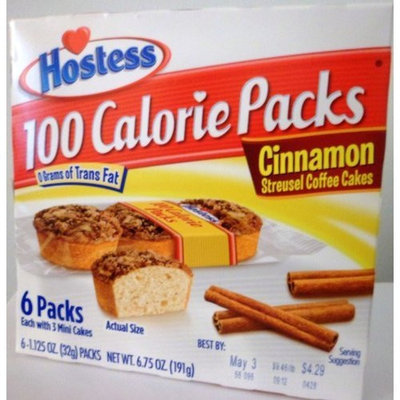 Hostess Cinnamon Streusel Coffee Cakes (Pack of 6)