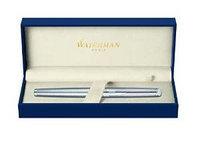 Waterman Hemisphere Essential Stainless Steel CT w/ Free Refill Rollerball Pen