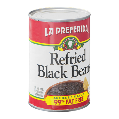 La Preferida Refried Black Beans