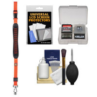 BlackRapid Cross Shot Sling Camera Strap (Orange) with Cleaning + Accessory Kit
