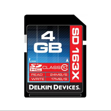 Delkin Devices DDSDPRO3-4GB 4GB Class 10 SDHC Memory Card
