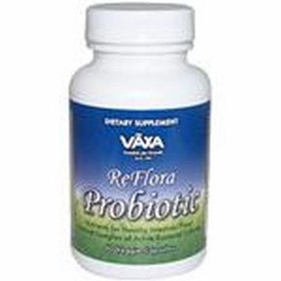 Vaxa Homeopathic Remedy, Reflora Probiotic, 60 Count