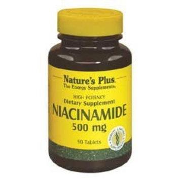 Niacinamide 500mg Nature's Plus 90 Tabs