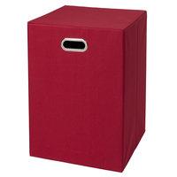 Creative Bath Fold N Store Hamper Red