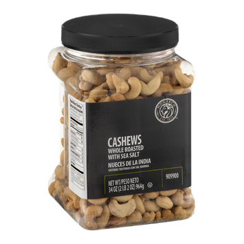 Monarch Cashews Whole Roasted with Sea Salt