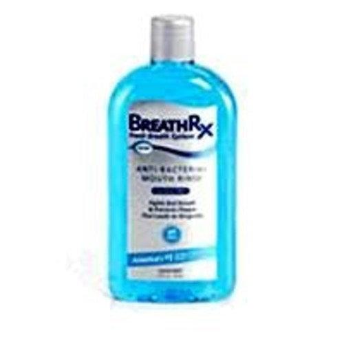 DISCUS DENTAL INC BreathRx Anti-Bacterial Mouth Rinse (33oz Bottle), Large Economy Size.