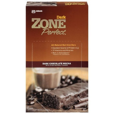Zone Perfect Dark Chocolate Mocha Bars, 1.58-Ounce (12-Counts)