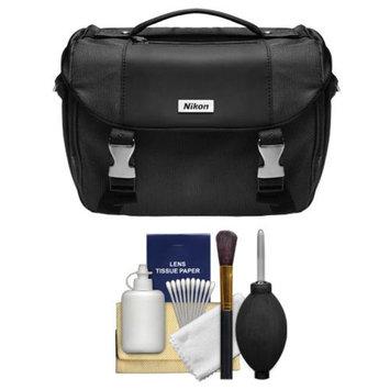 Nikon Deluxe Digital SLR Camera Case - Gadget Bag + Cleaning Kit for D3200, D3300, D5200, D5300, D7000, D7100, D610, D750, D810