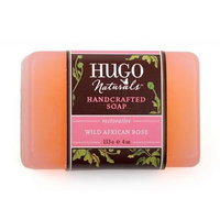 Bar Soap - Wild African Rose Hugo Naturals 4 oz Bar Soap