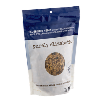 Purely Elizabeth Ancient Grain Granola Blueberry Hemp
