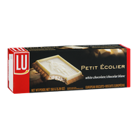 LU Petit Ecolier European Biscuits White Chocolate