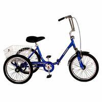Kent International Kent Adult Westport 20 Folding Trike - Blue