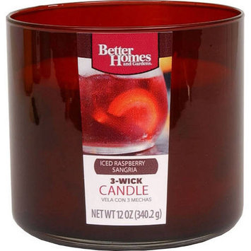 Better Homes and Gardens 12-Ounce Candle, Iced Raspberry Sangria
