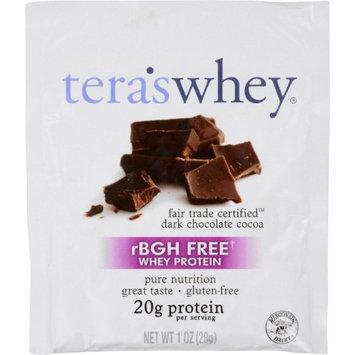 Teras Whey Whey Protein Dark Chocolate, Dark Chocolate 1 OZ(case of 12)