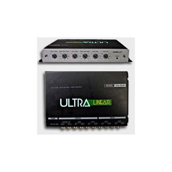 Ultra Linear ULQ4 3-Way 1/2 DIN Adjustable Electronic Crossover
