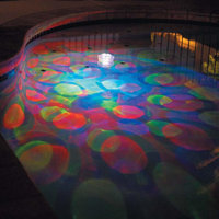 Blue Wave Pool Blue Wave Underwater Light Show