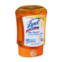 Lysol No-Touch Sparkling Tangerine Scent Antibacterial Hand Soap Refill