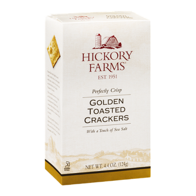 Hickory Farms Perfectly Crisp Golden Toasted Crackers