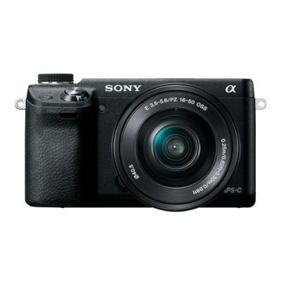 Sony NEX-6L/B Mirrorless Digital Camera with 16-50mm Power Zoom Lens and 3-Inch LED