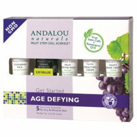 Andalou Naturals Get Started Age Defying Kit - $30.00 Value