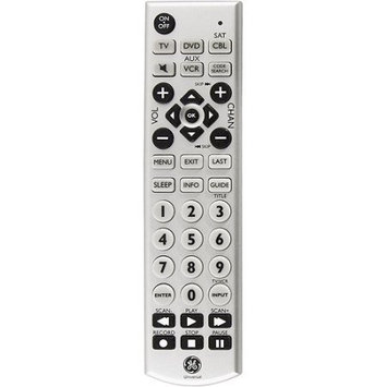 Jasco Products 24965 Universal Big Button Remote Control