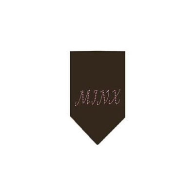 Ahi Minx Rhinestone Bandana Cocoa Small