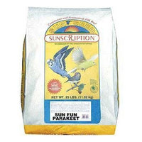 Bird Supplies Keet Sun Fun Diet 25Lb