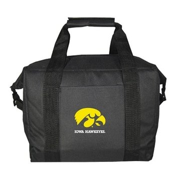 NCAA Iowa University of Hawkeyes 12 Pk Cooler