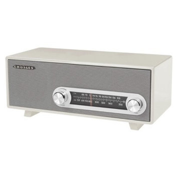 Crosley Ranchero Tabletop Radio - White (CR3022A-WH)