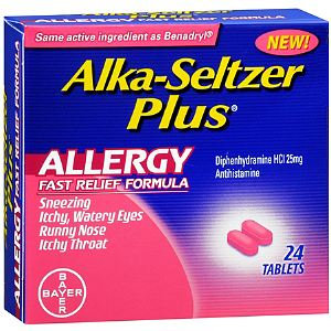 Alka-Seltzer Plus Allergy Fast Relief Formula Tablets