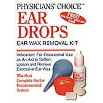 Physician's Choice Physicians' Choice Ear Drops Ear Wax Removal Kit - 1 EA