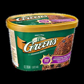 Green's Centennial Chocolate Chocolate Caramel Twist Ice Cream