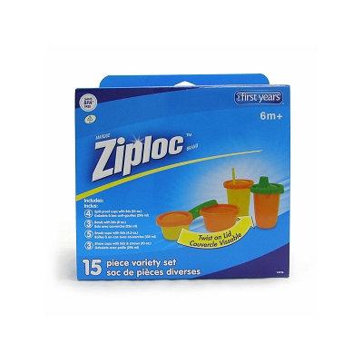 The First Years Ziploc 15 Piece Variety Set