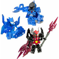 Ionix Tenkai Knights Action Figure Pack, Vilius/Kutor/Tributon