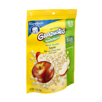 Gerber® Graduates for Toddlers Apple Mini Fruits