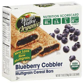 Health Valley Organic Blueberry Cobbler Multigrain Cereal Bars