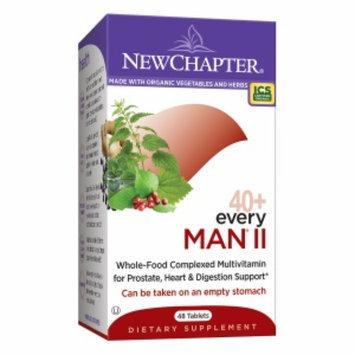 New Chapter Organics 40+ Every Man II Multi Vitamin