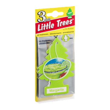 Little Trees Air Fresheners Margarita - 3 PK