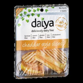 Daiya Deliciously Dairy Free Slices Cheddar Style