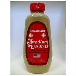 Stadium Mustard Squeeze, 12 oz, 6 pk