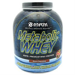 MRM Metabolic Whey Protein Rich Chocolate - 5 lbs