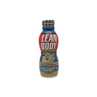 Labrada Nutrition Lean Body On the Go! - 12 Bottles CookiesCream