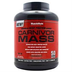 MuscleMeds Carnivor Mass Vanilla Caramel - 5.6 lbs