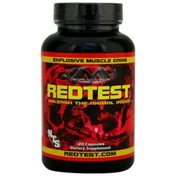 Muscleology - RedTest Testosterone Enhancement Compound - 120 Capsules