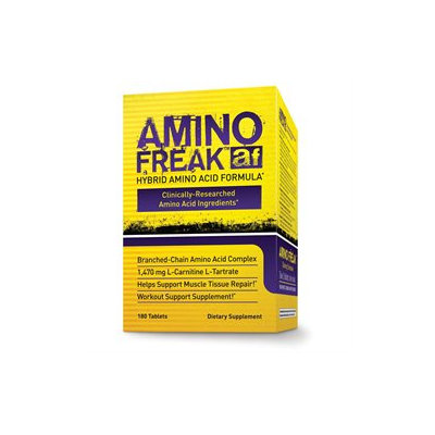 PharmaFreak Technologies Amino Freak - 180 Hybrid Tablets