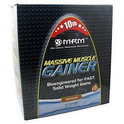 MRM Massive Muscle Gainer - 10 Lbs. - Chocolate