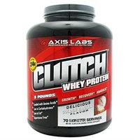 Quisling Media Clutch Whey Protein Isolate, Creamy Vanilla, 5 lb (2295 g)